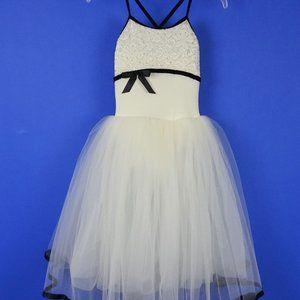 Weismann Rhinestone Ballet Dance Dress Girls MC 10